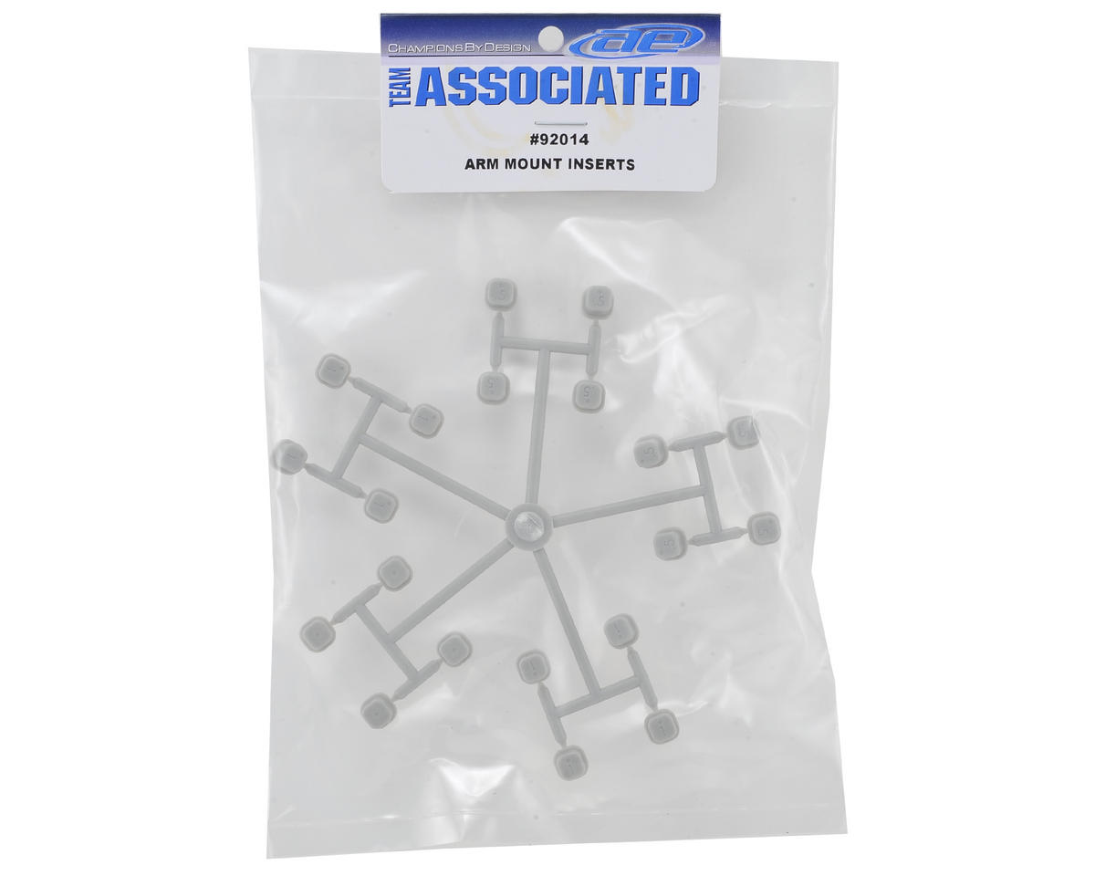 Team Associated Arm Mount Inserts