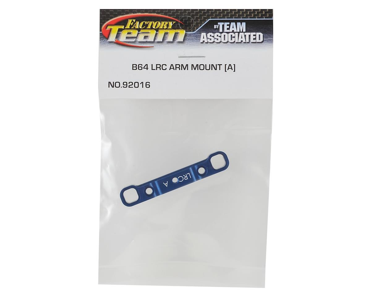 "Team Associated B64 Aluminum LRC ""A"" Arm Mount"
