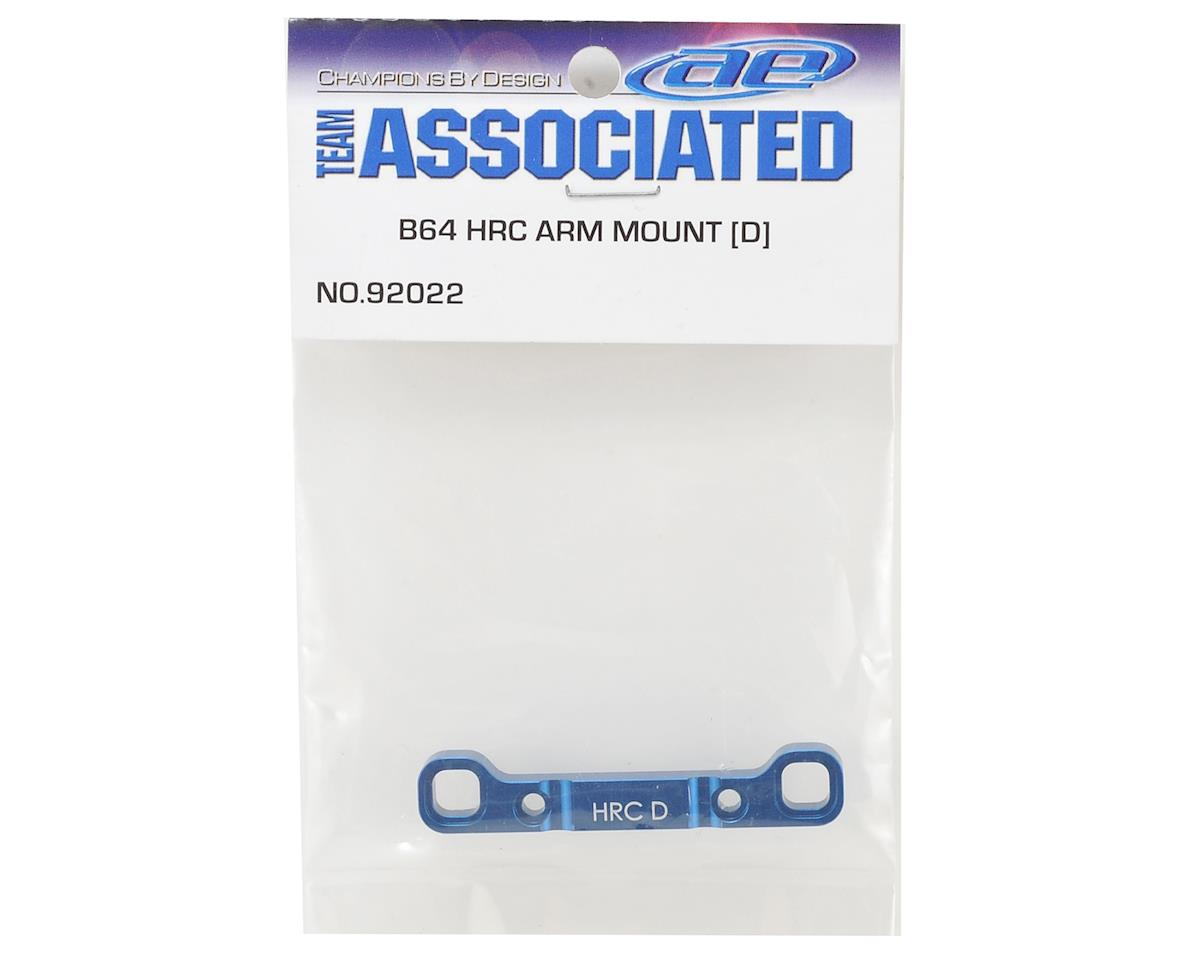 "Team Associated B64 Aluminum HRC ""D"" Arm Mount"