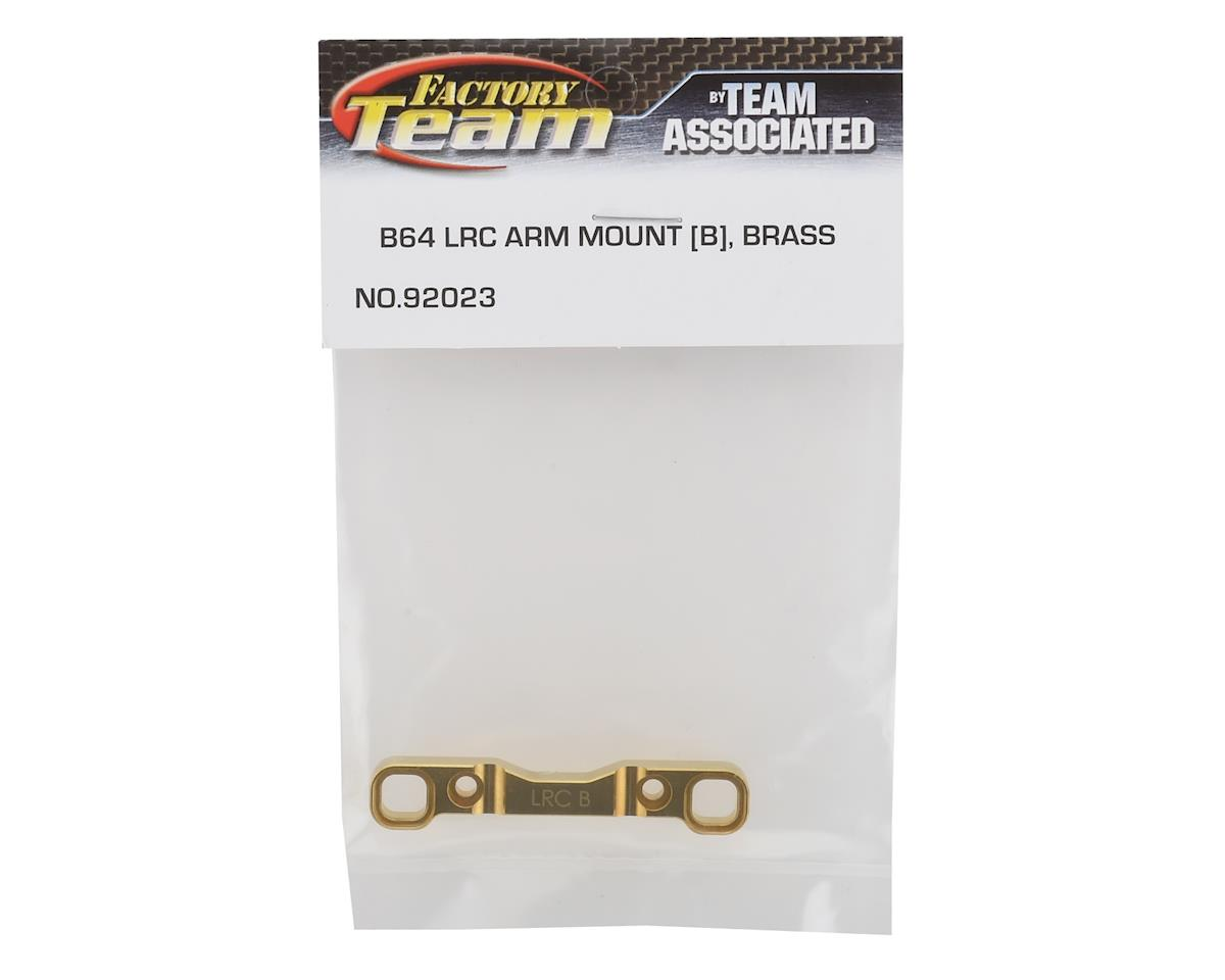 "Team Associated Brass B64 LRC ""B"" Arm Mount"