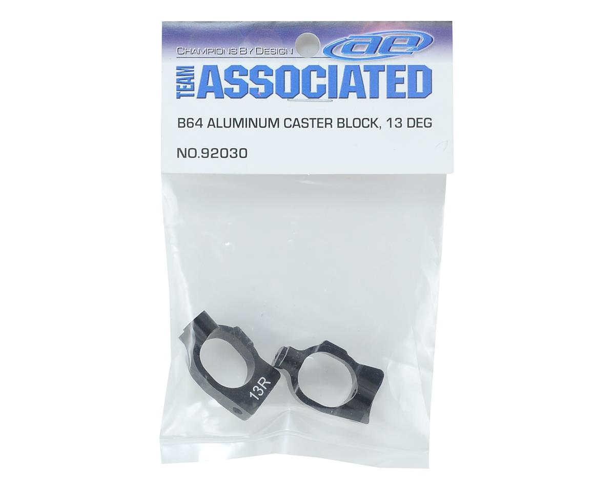 Team Associated 13° Aluminum B64 Caster Block Set