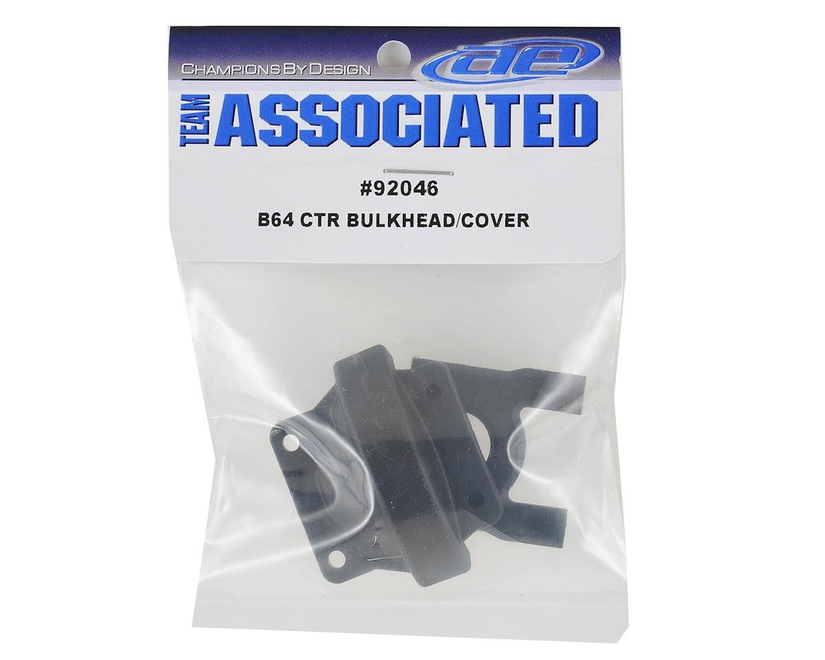 Team Associated B64 Center Bulkhead & Cover