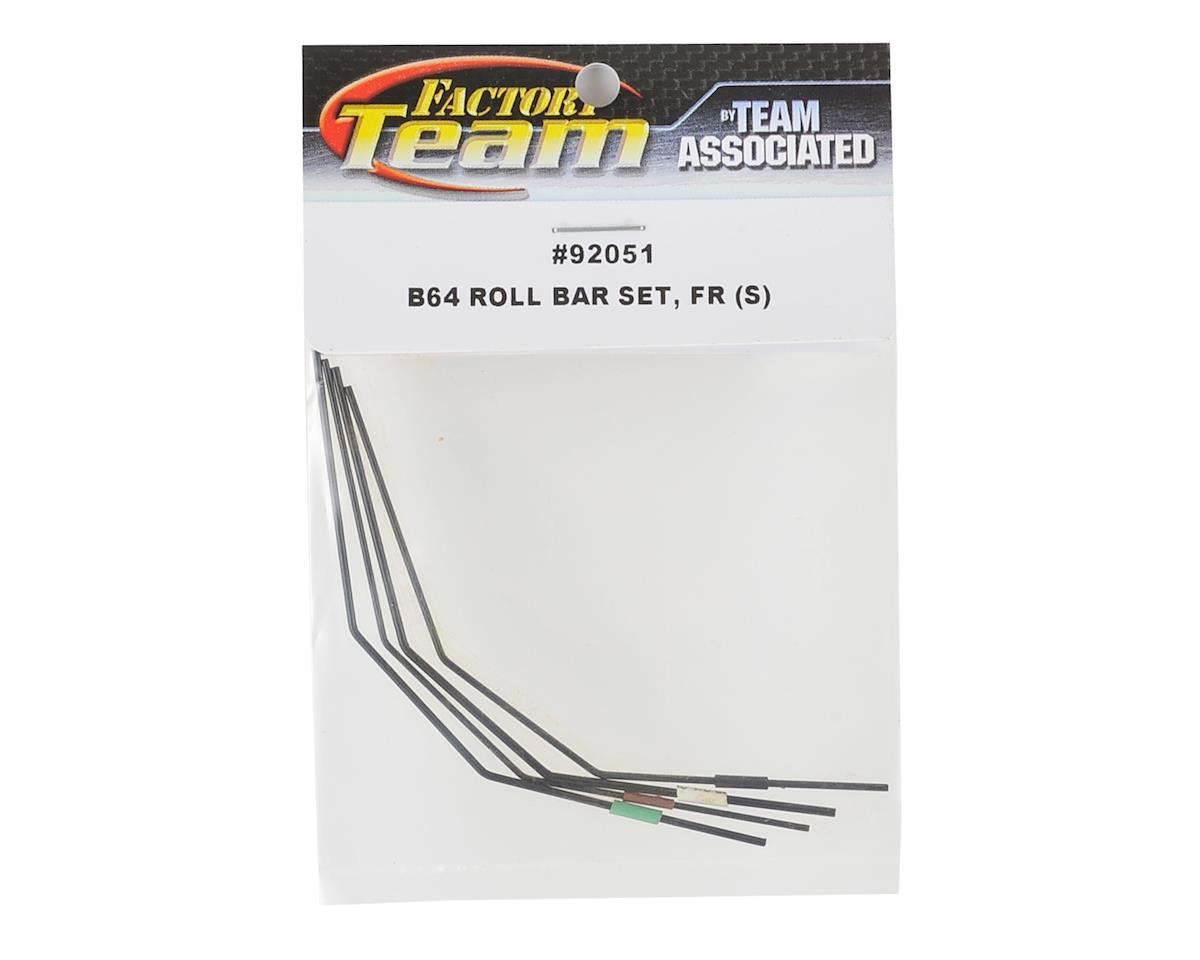 Team Associated B64 Front Anti-Roll Bar Set (Soft)