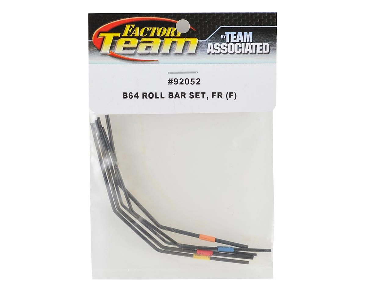 Team Associated B64 Front Anti-Roll Bar Set (Firm)