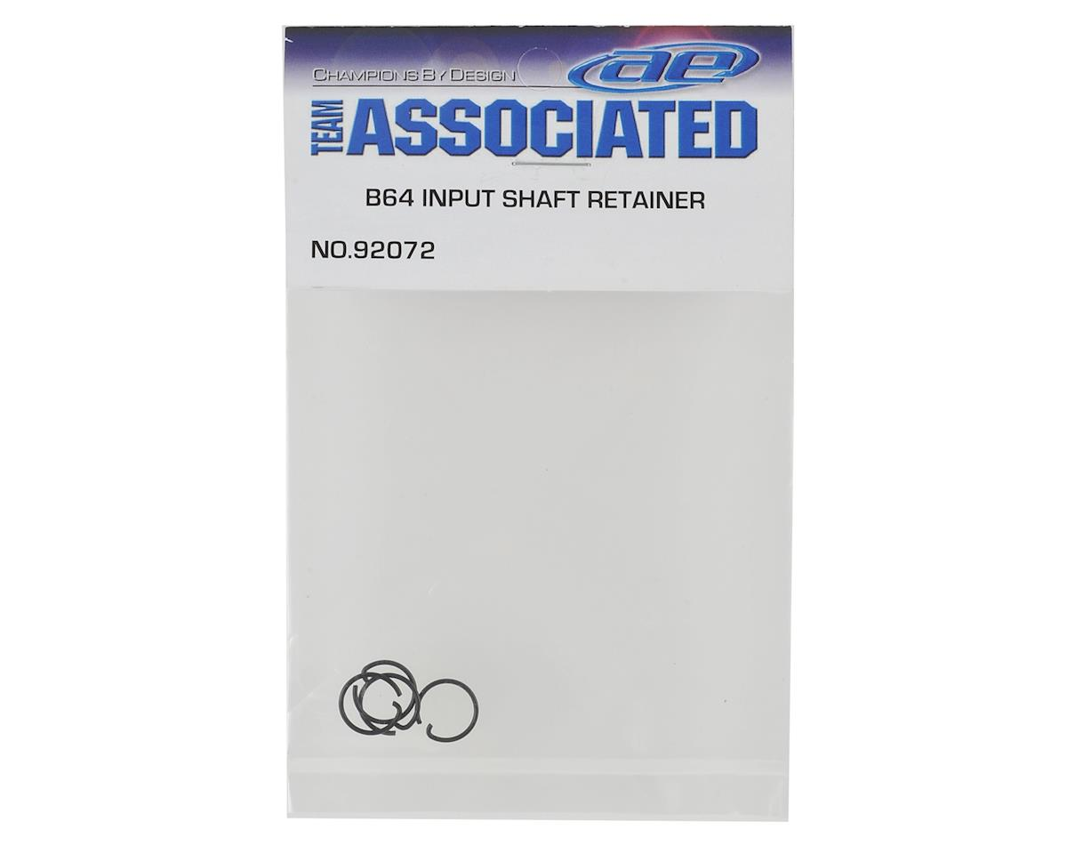 Team Associated B64 Input Shaft Retainers (4)