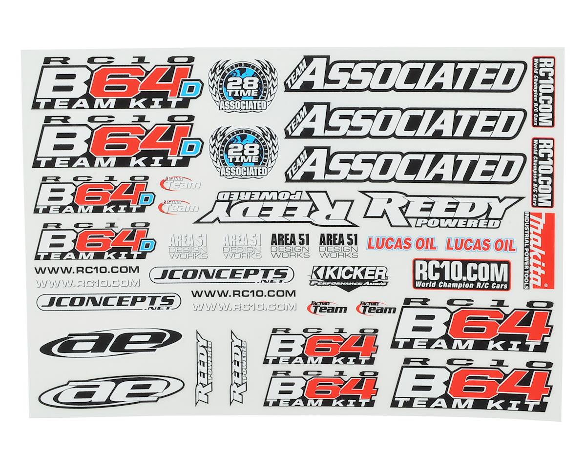 Team Associated B64 / B64D Decal Sheet