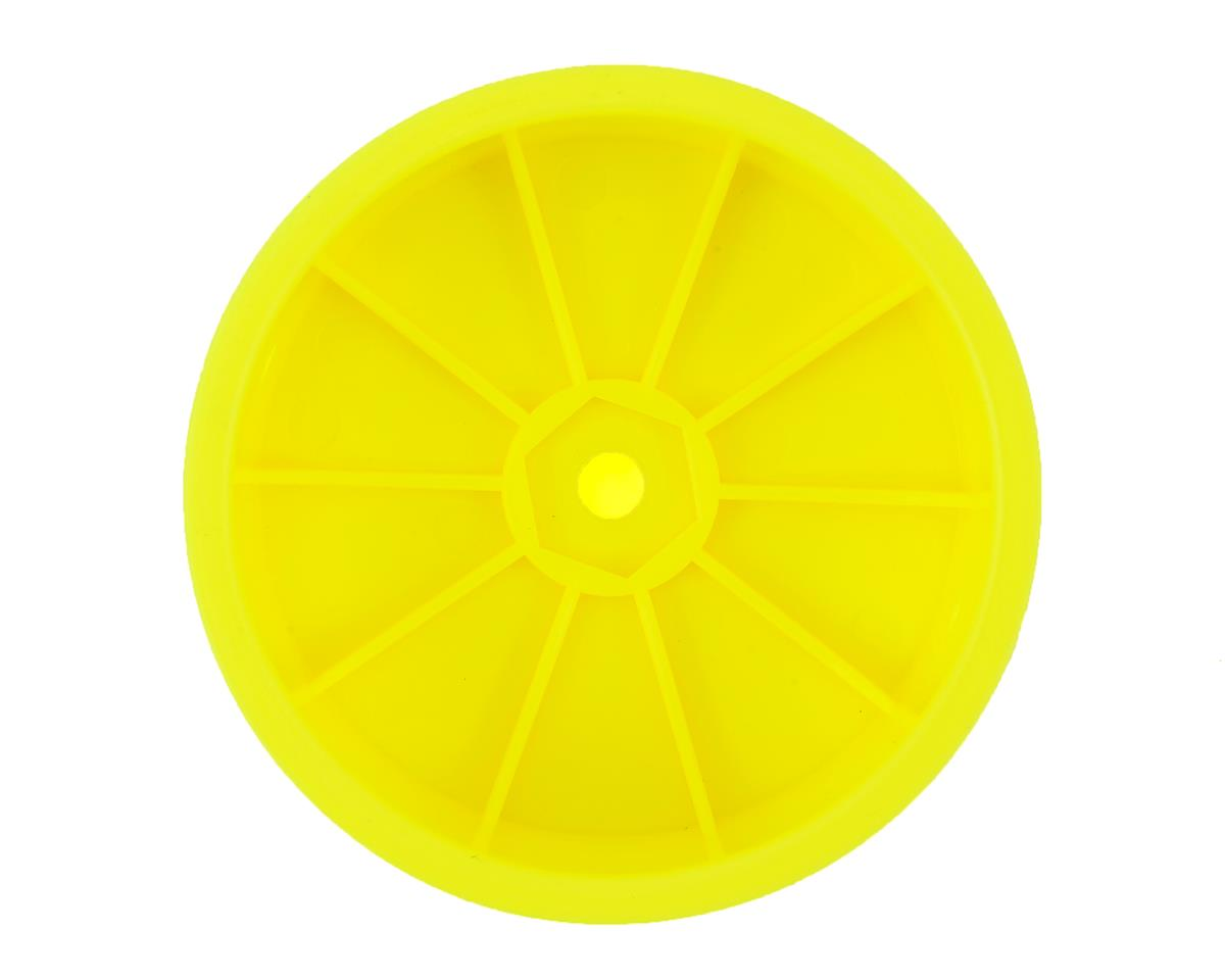 Team Associated 12mm Hex 2.2 4WD Front Buggy Wheels (2) (B64) (Yellow)