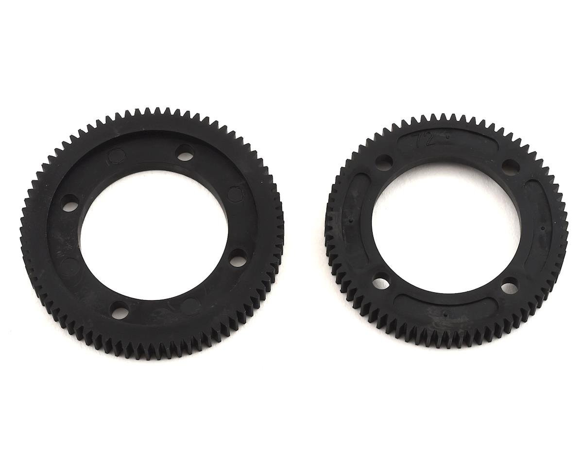 Team Associated RC10B74 Center Differential Spur Gear Set (72T & 78T)