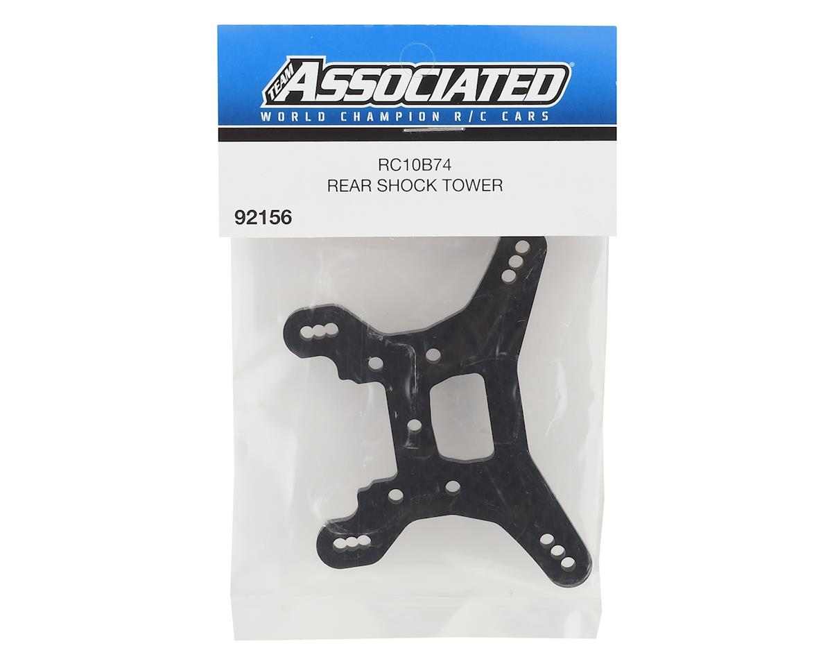 Image 2 for Team Associated RC10B74 Carbon Fiber Rear Shock Tower