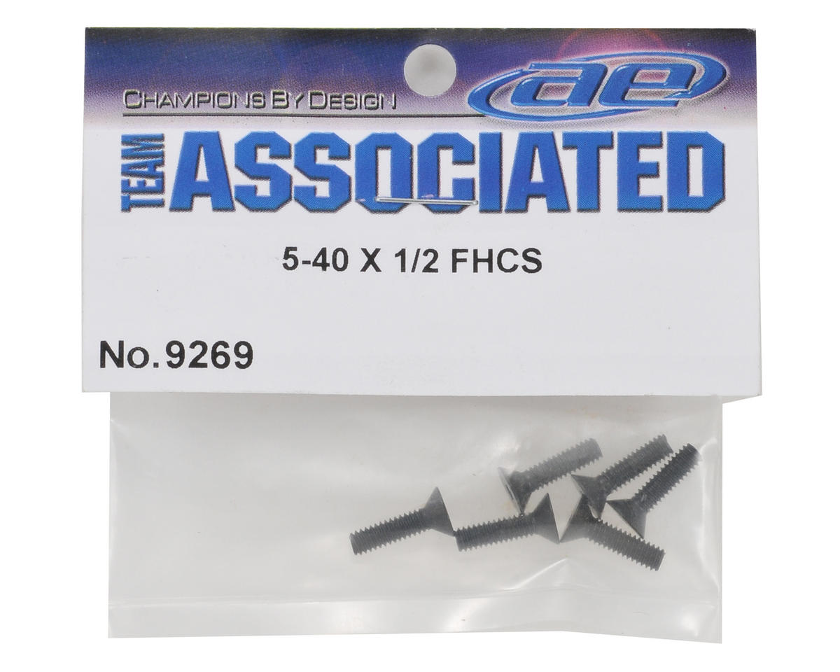 Team Associated 5-40 x 1/2 Flat Head Screw