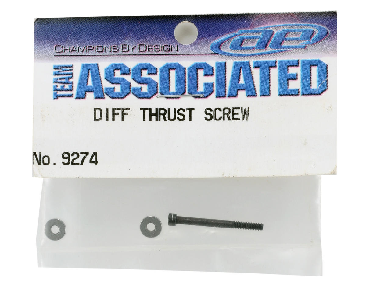 Team Associated Differential Thrust Screw & Washer Set