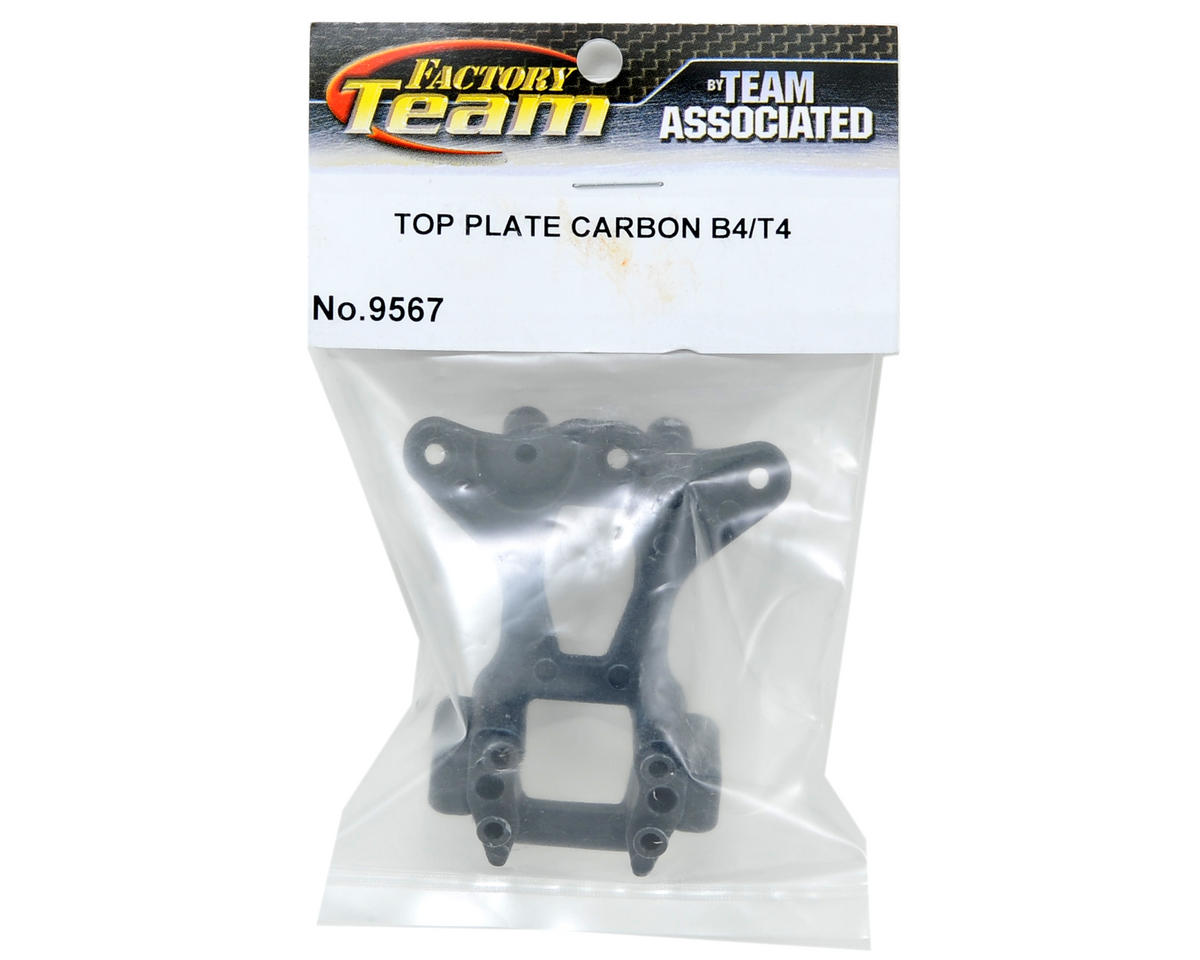 Team Associated Carbon Factory Team Top Plate