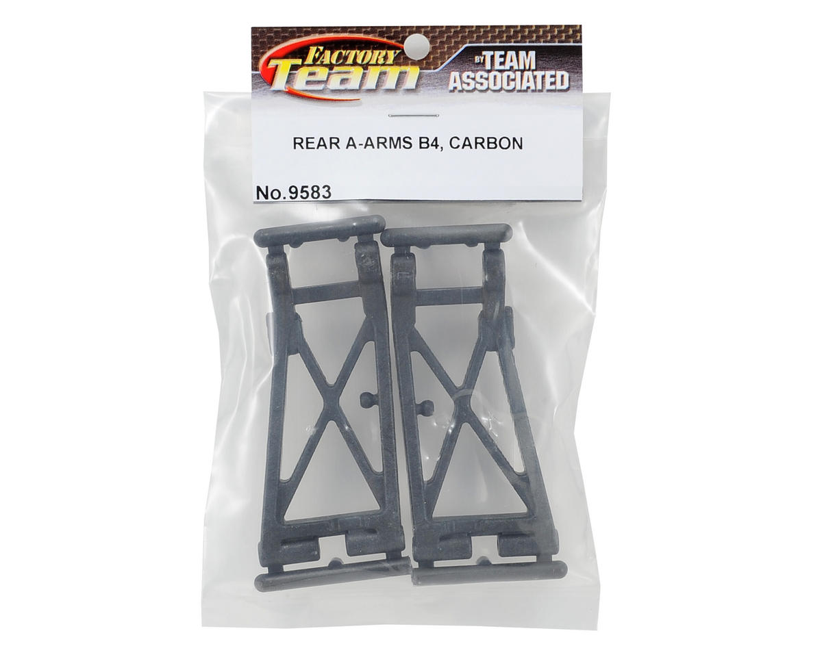 Team Associated Carbon Rear A-Arm (2) (B4)
