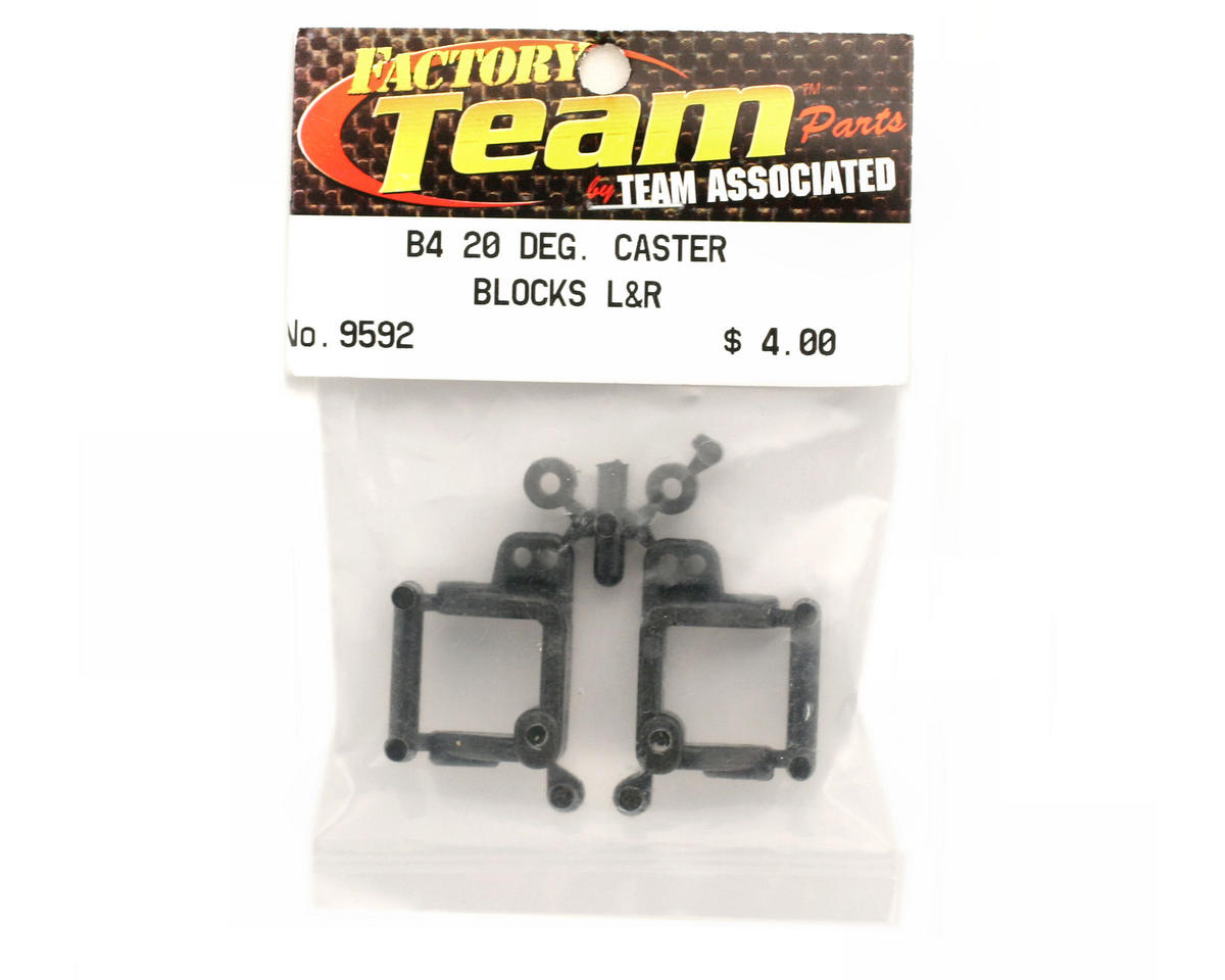 Team Associated 20 Degree Caster Block (T4/B4/GT2)