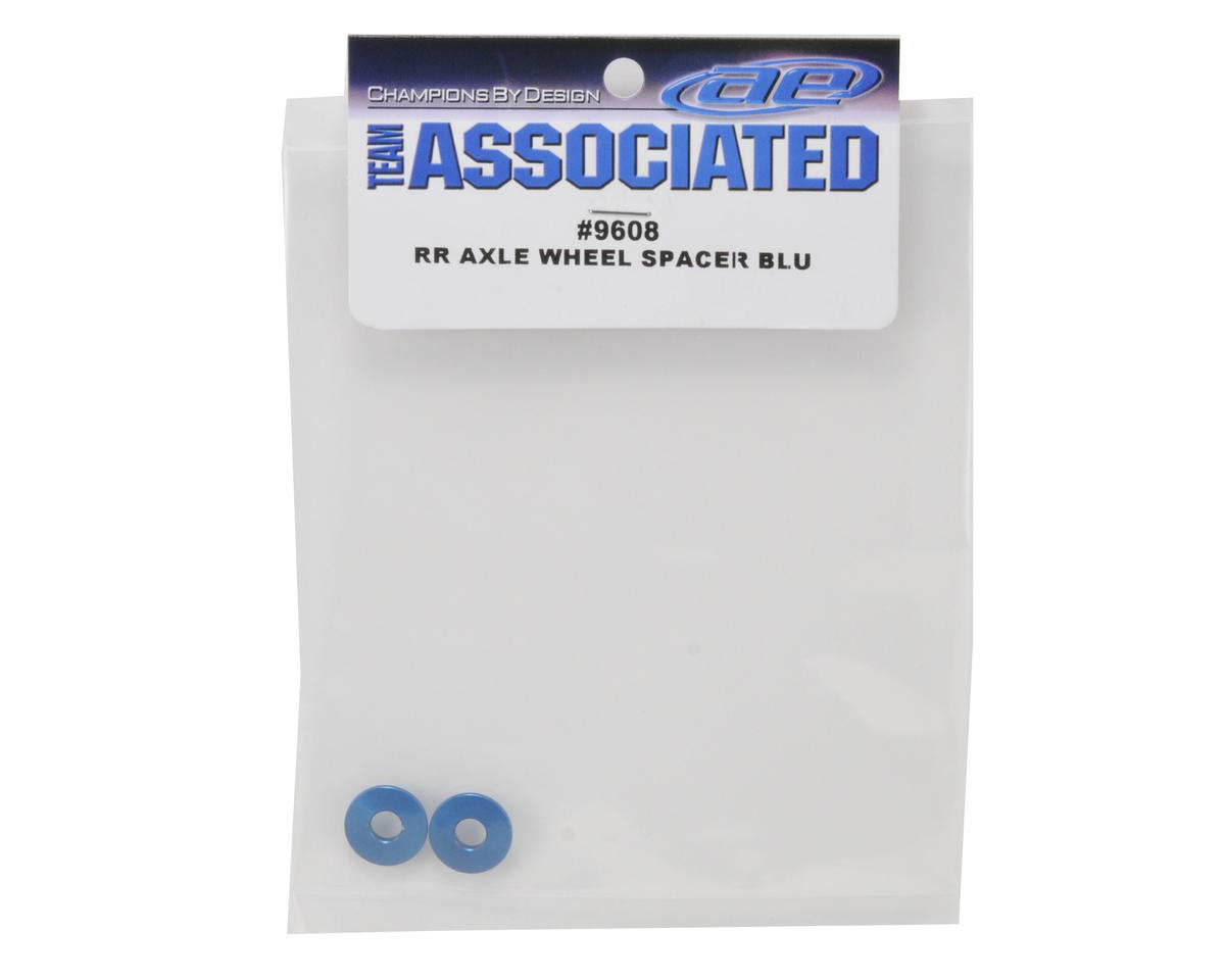 Team Associated Rear Axle Wheel Spacer (Blue)