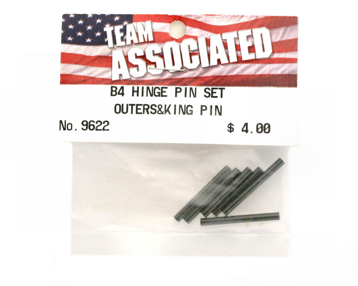 Team Associated Hinge Pin Set T4/B4/GT