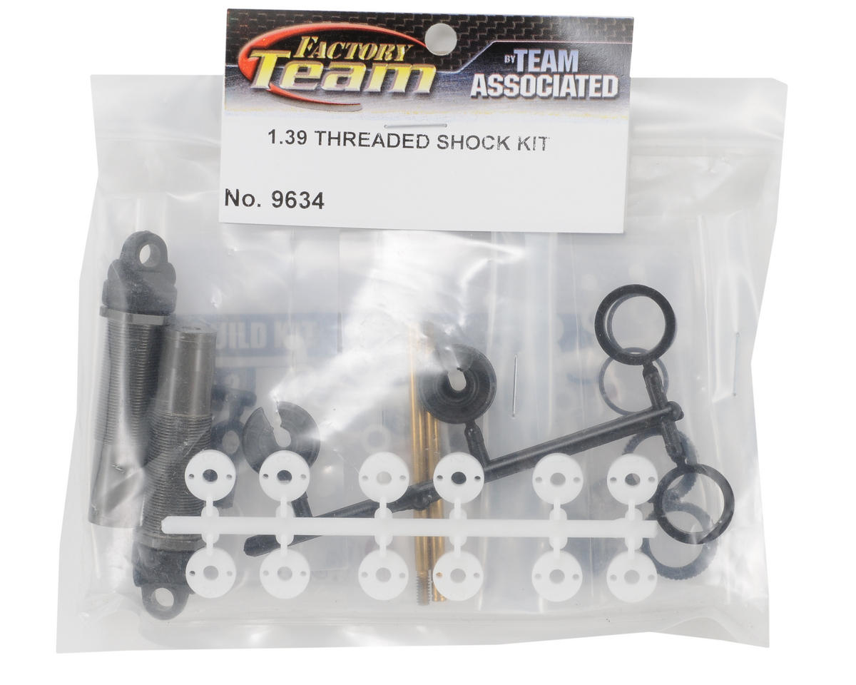 "Team Associated Factory Team 1.39"" Threaded Rear Shock Kit"