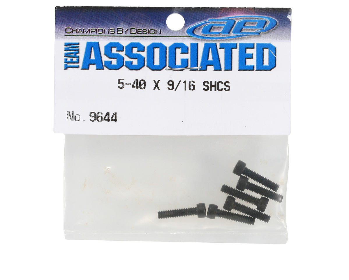 Team Associated 5-40 x 9/16 Socket Head Screw (6)