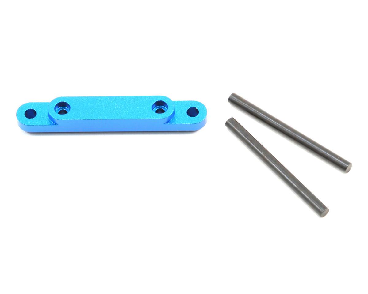 Factory Team Hinge Pin Brace (Blue) by Team Associated