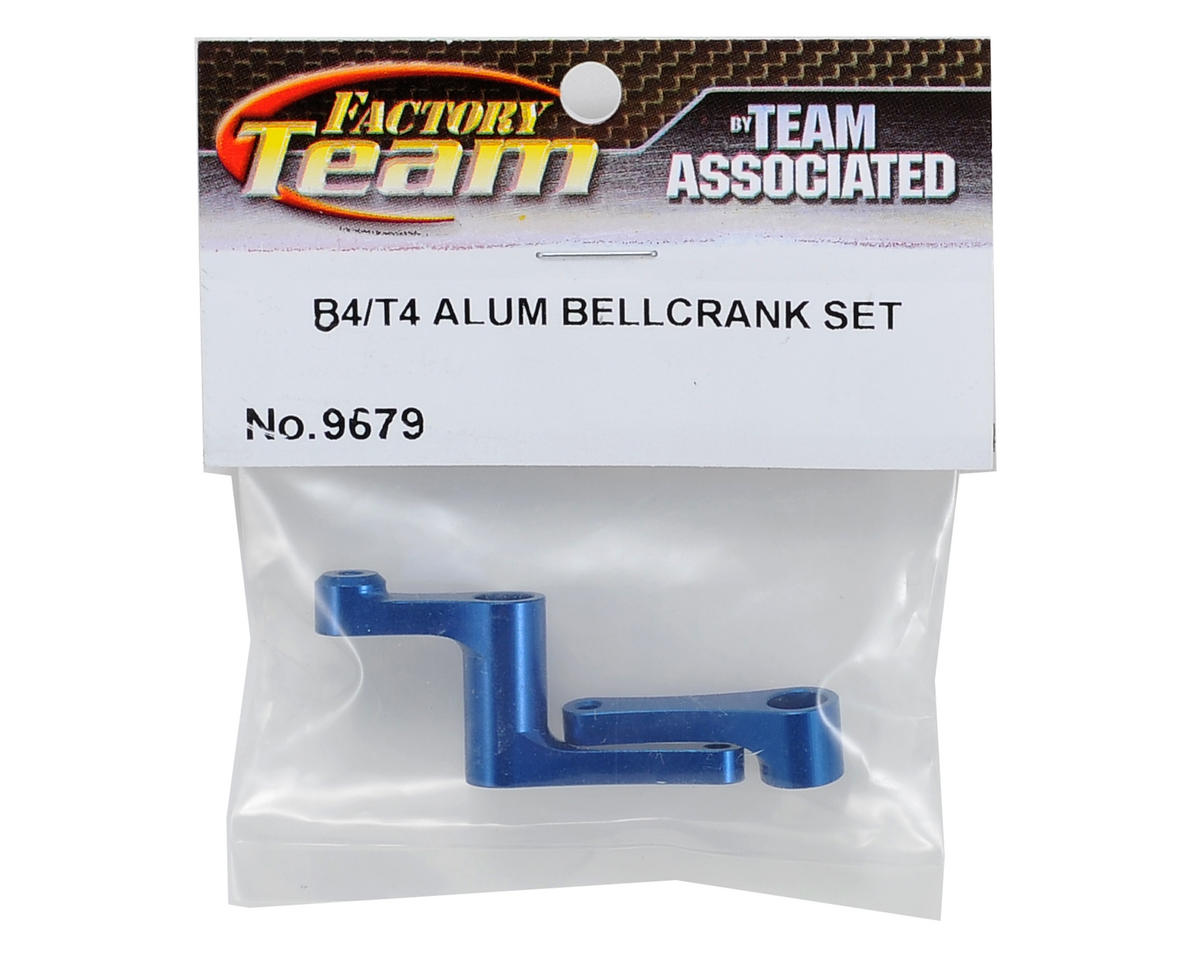 Team Associated Factory Team Aluminum Bellcrank Set (Blue)