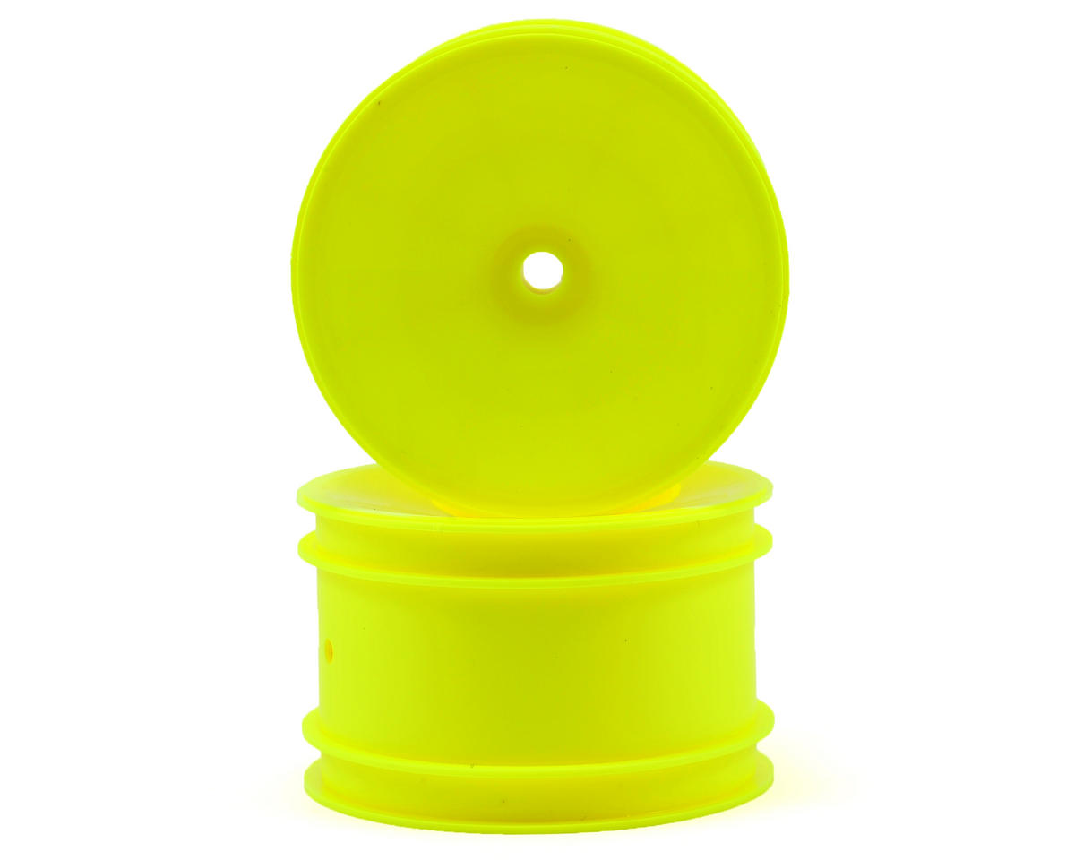 12mm Hex 2.2 Rear Hex Wheels (2) (B6/B64) (Yellow) by Team Associated