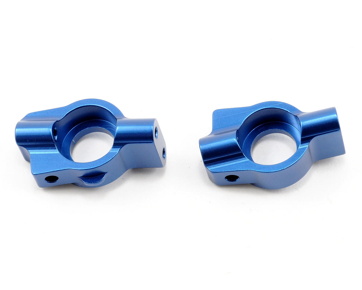 Team Associated Factory Team Aluminum Caster Blocks (Blue)