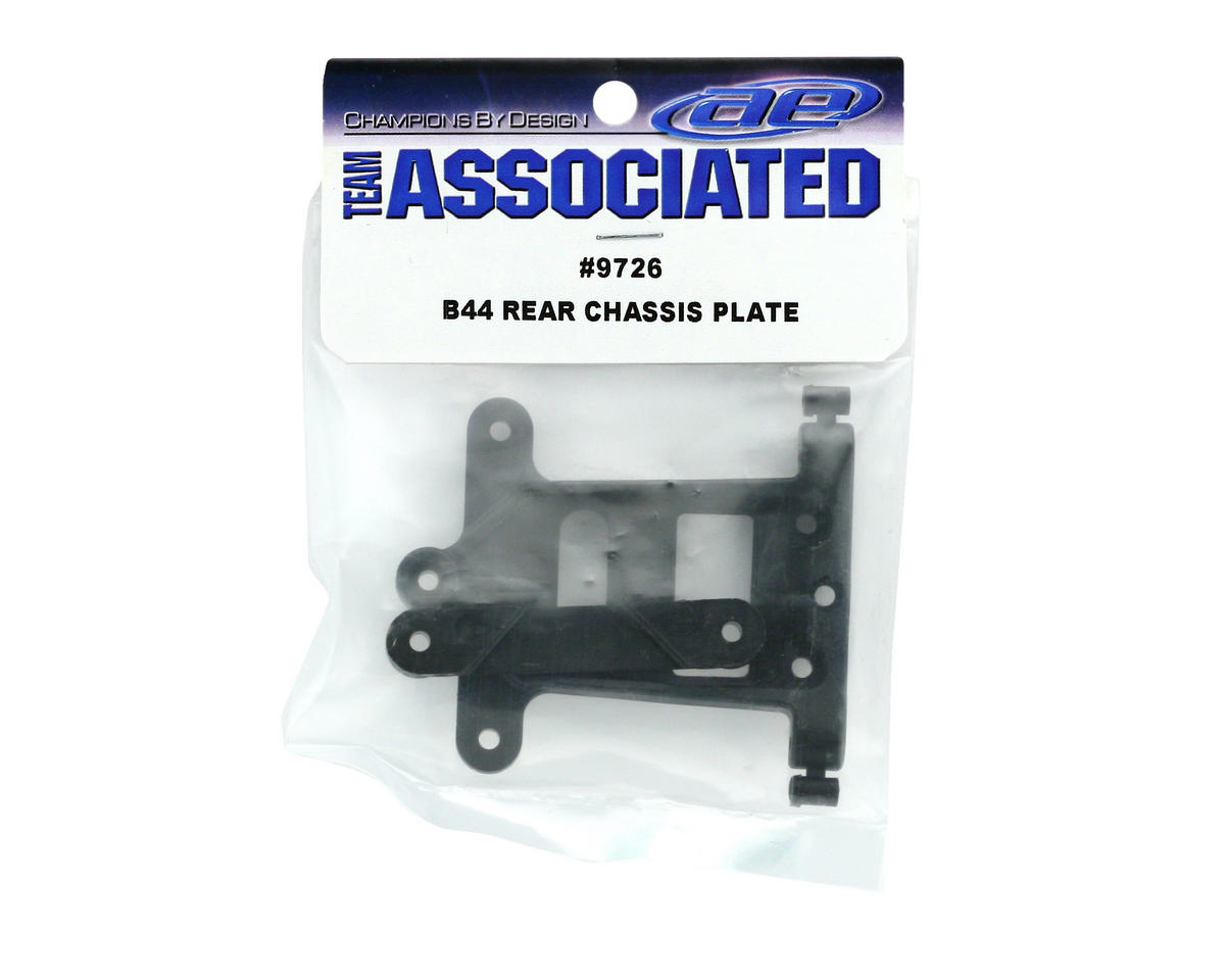 Rear Chassis Plate (B44) by Team Associated