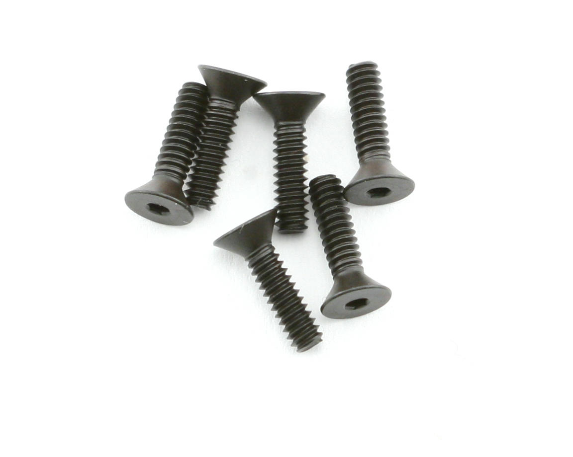 Team Associated 4-40 x 7/16 FHC Screws (6)