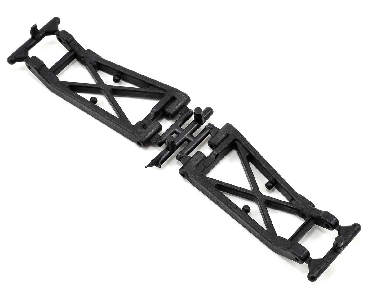 Factory Team B4/B44 Rear Arms (Hard) (2) by Team Associated