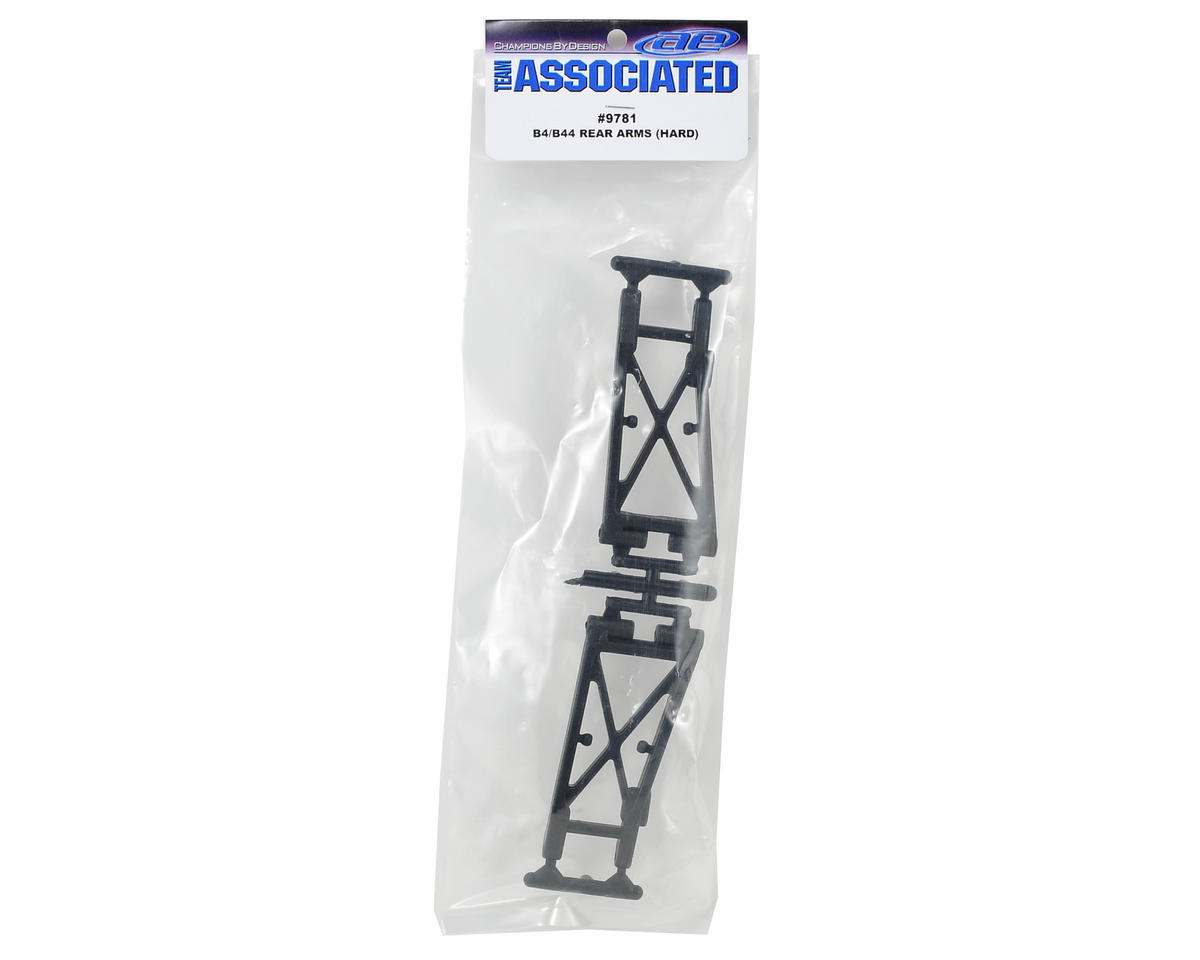 Team Associated Factory Team B4/B44 Rear Arms (Hard) (2)