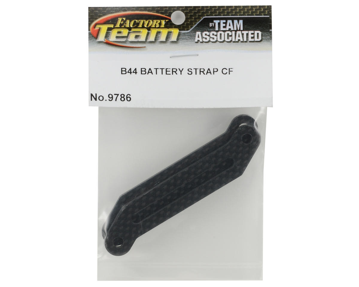 Team Associated Carbon Battery Strap (B44)