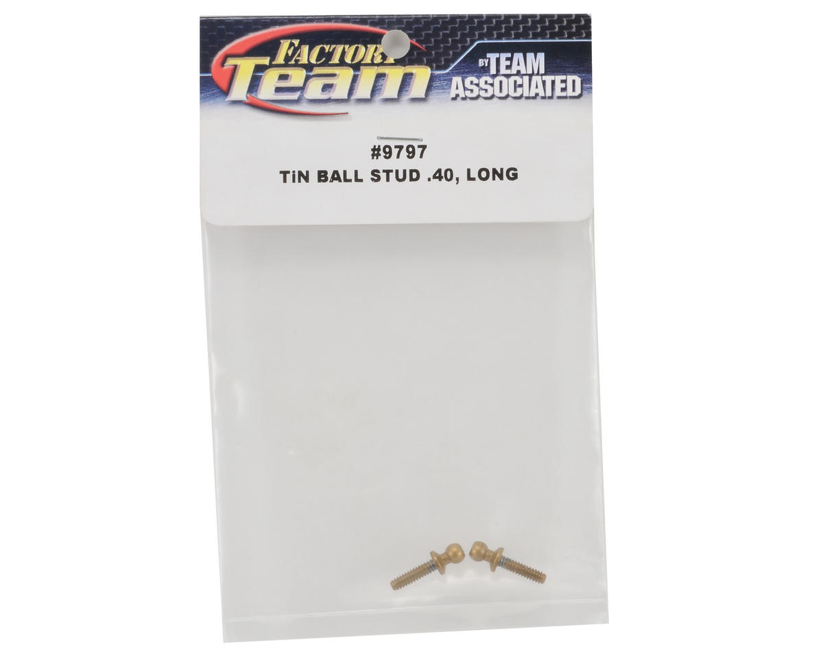 Team Associated 4-40 x .400 Long Ti-Nitride Ball Stud Set (2)