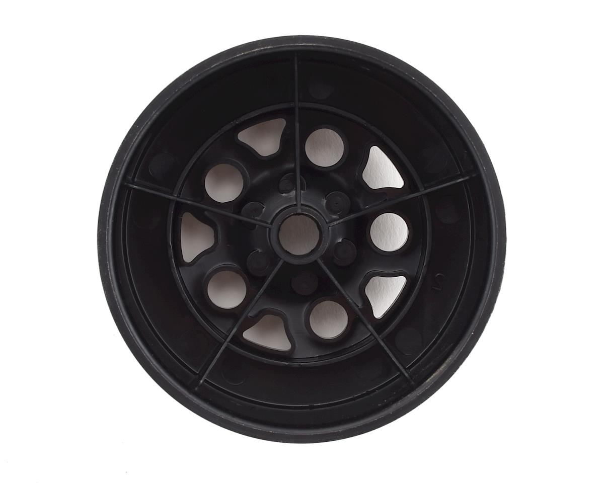 Team Associated KMC Short Course Wheels (Black) (2) (SC10 Front) (Not Hex)