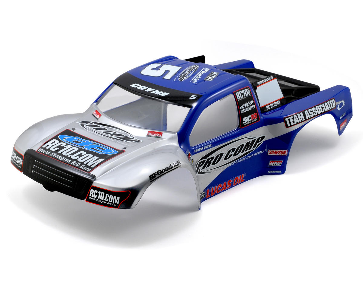 "Team Associated ""09 Pro Comp"" Painted Body (SC10)"