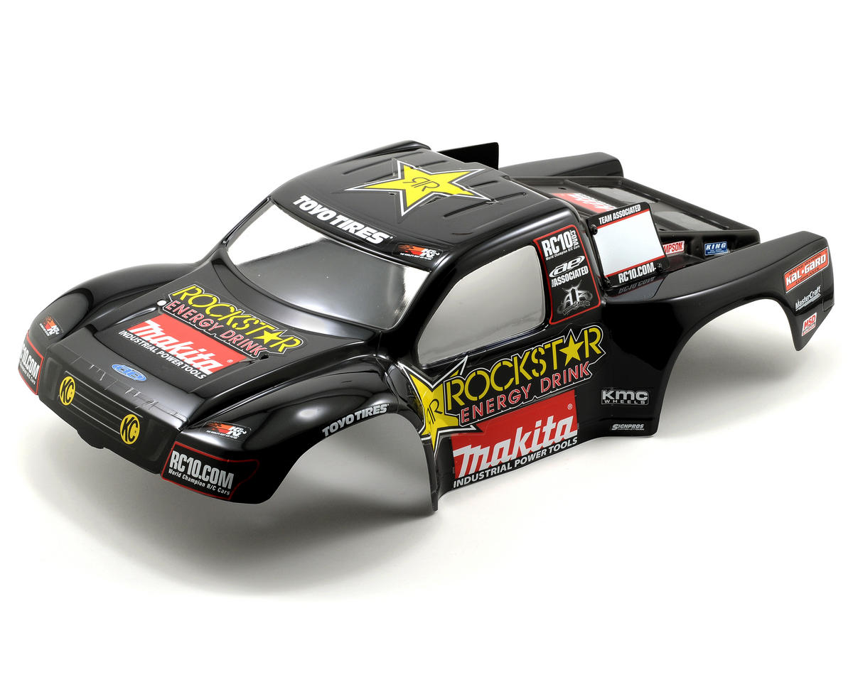 "Team Associated ""09 Rockstar-Makita"" Body (SC10)"