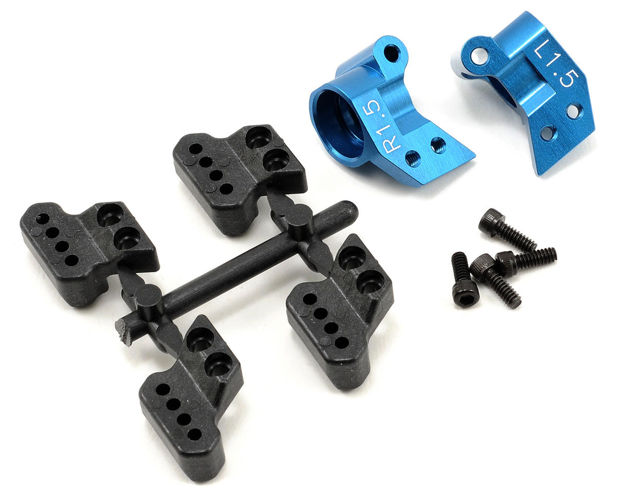 Factory Team 1.5° Aluminum Hub Set (2) by Team Associated