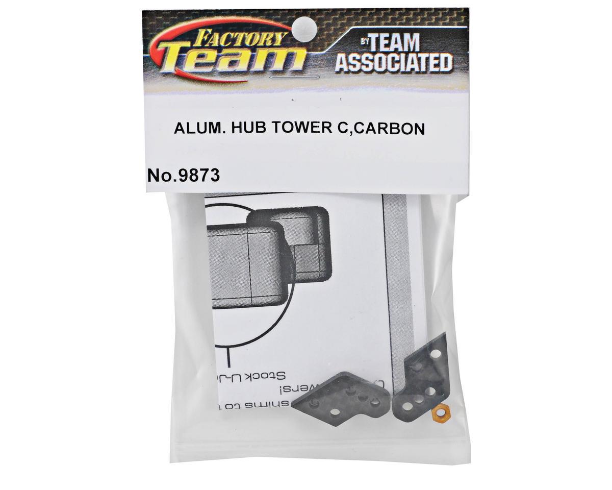 Team Associated Factory Team Aluminum Hub Carbon Fiber C Tower Set (2)