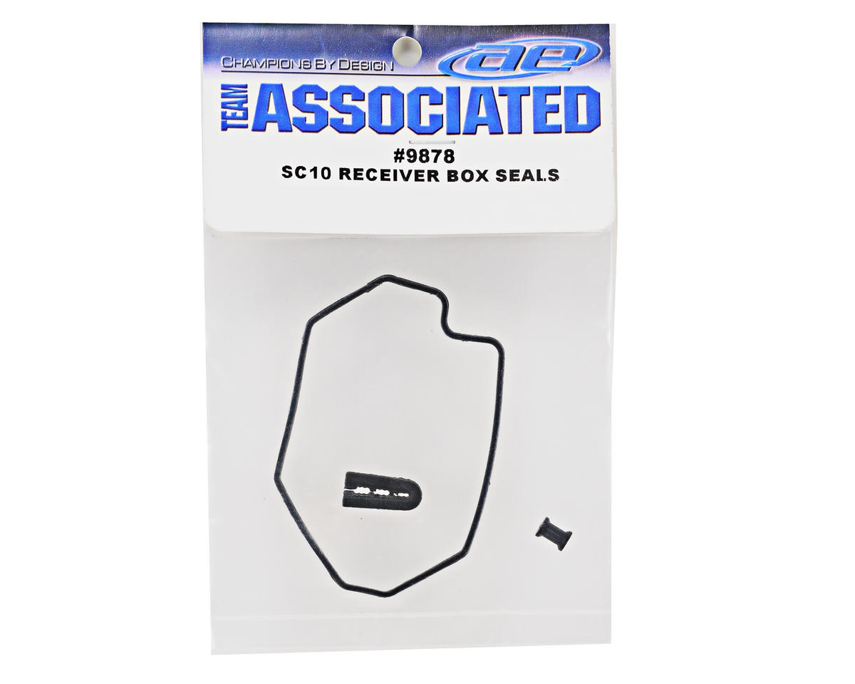 Team Associated Receiver Box Seal Set (SC10RS)