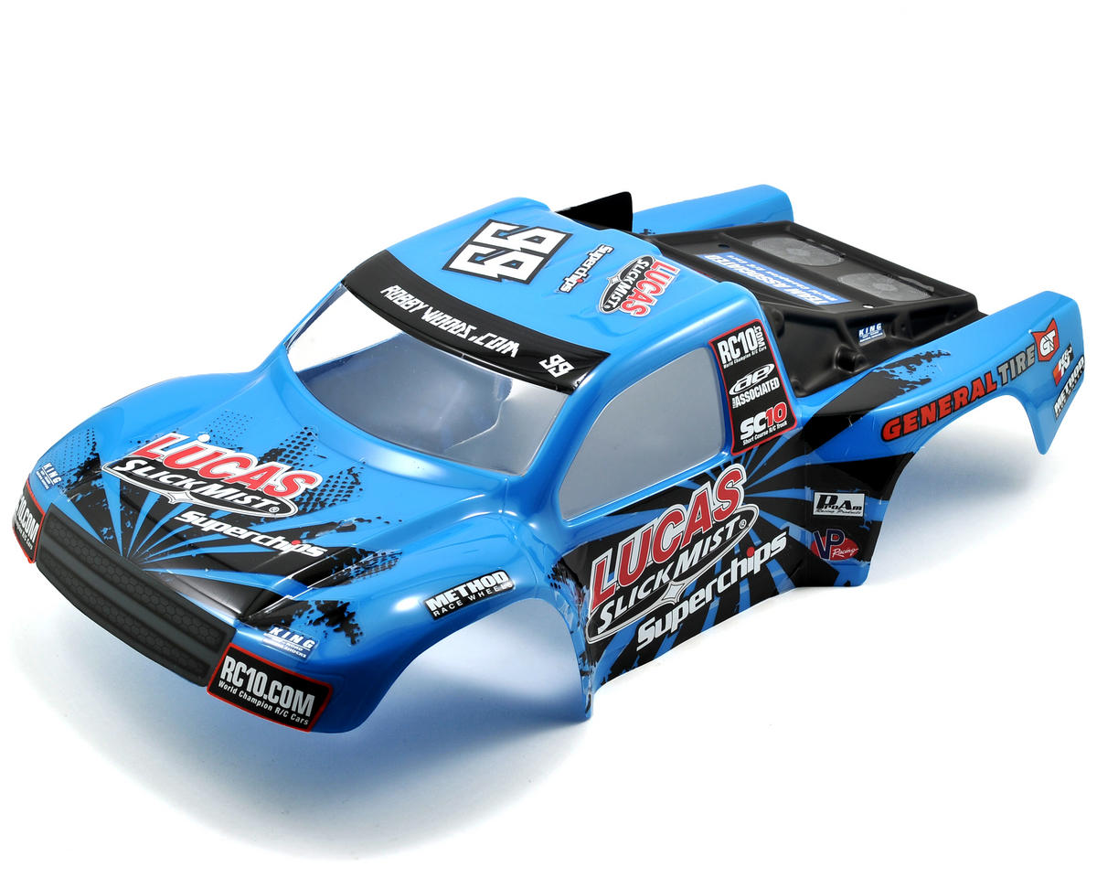 "Team Associated SC10 4x4 ""Slick Mist"" Body (SC10)"