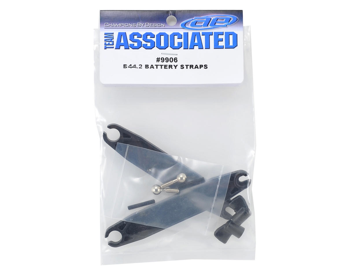 Team Associated B44.2 Battery Straps (2)