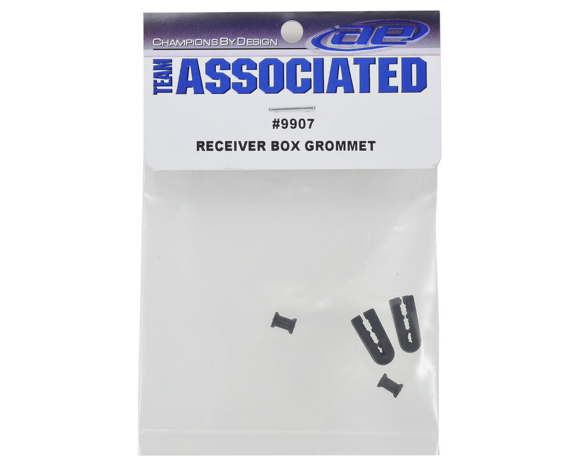 Team Associated Receiver Box Grommet Set