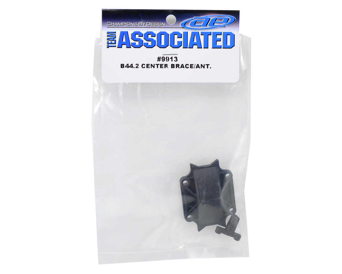 Team Associated B44.2 Center Brace & Antenna Mount Set