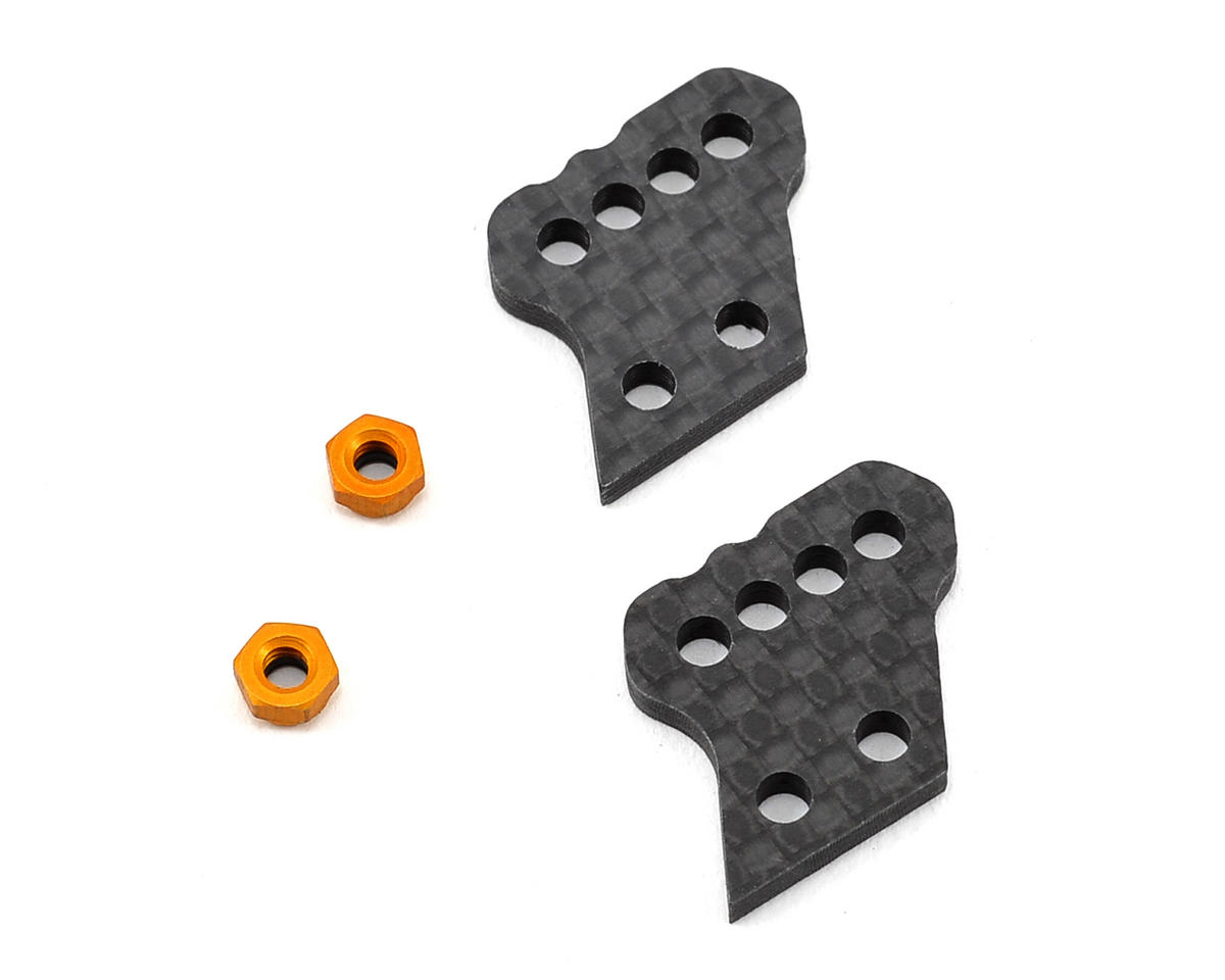Team Associated Factory Team Aluminum Hub Carbon Fiber B Tower Set (2)