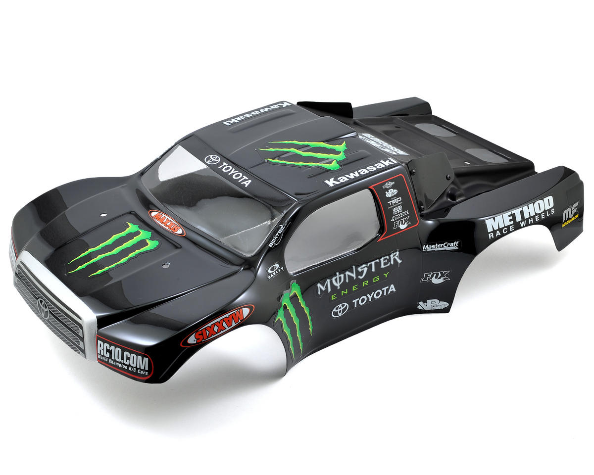 "Team Associated ""Monster Energy/Toyota"" Short Course Truck Body (SC10)"