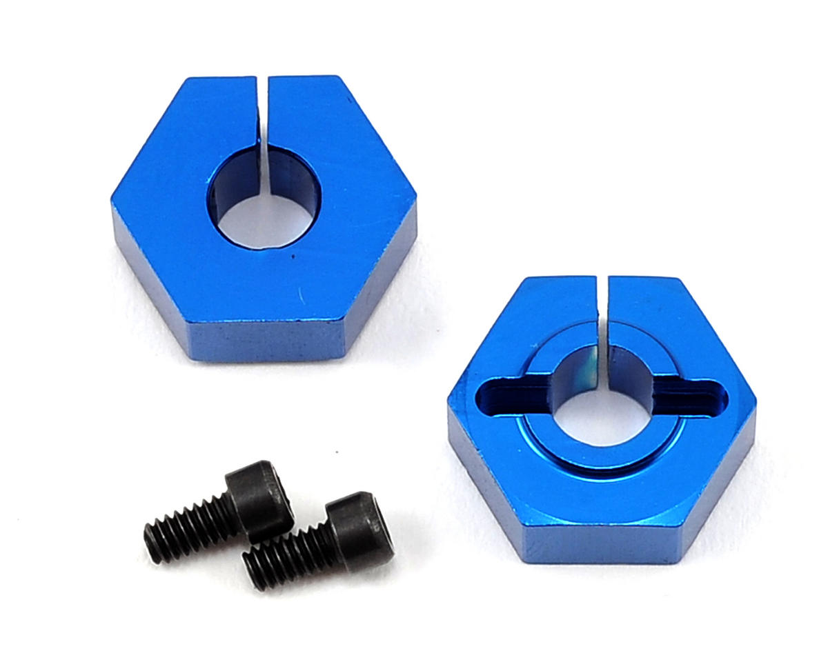 Team Associated Factory Team B44 12mm Narrow Rear Clamping Hexes (2)