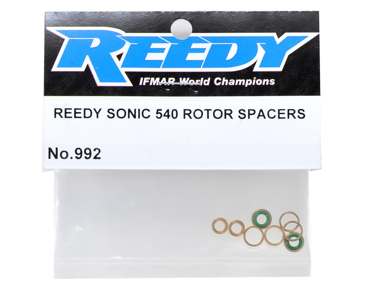 Reedy Sonic 540 Rotor Spacer Set (10)
