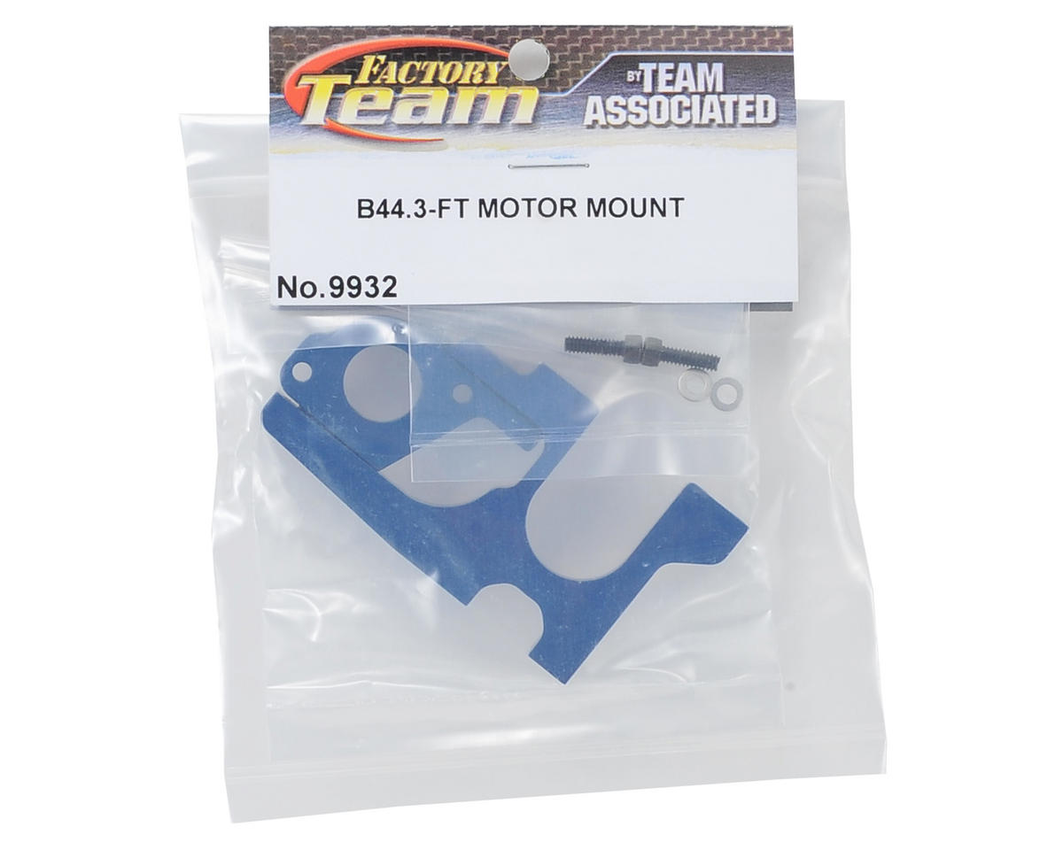 Team Associated Aluminum Factory Team Motor Mount (Blue)