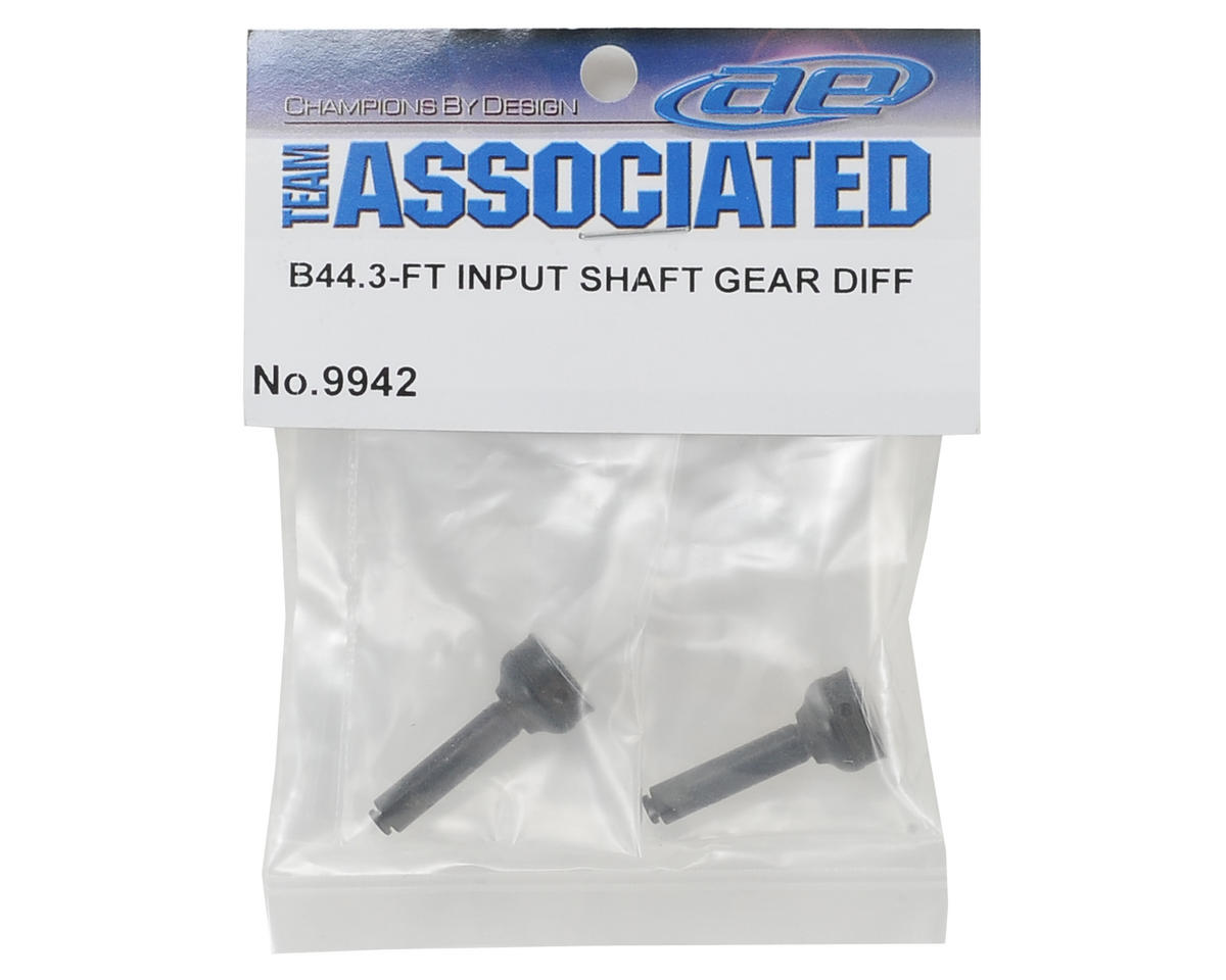 Team Associated Gear Differential Input Shaft (2)