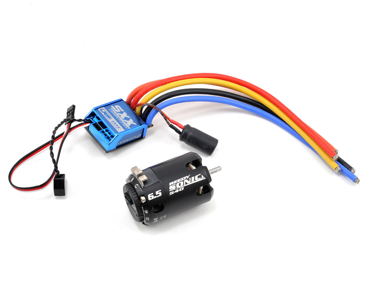"LRP SXX ""Version 2"" Competition ESC & Sonic Brushless Motor Combo (6.5T)"