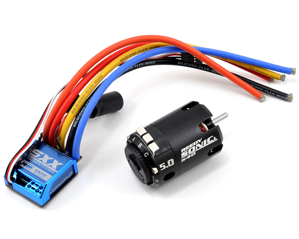 "LRP SXX ""Version 2"" Competition ESC & Sonic Brushless Motor Combo (5.0T)"